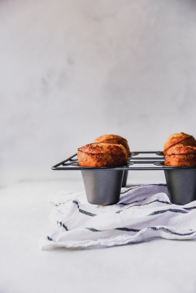Perfect Parmesan Popovers