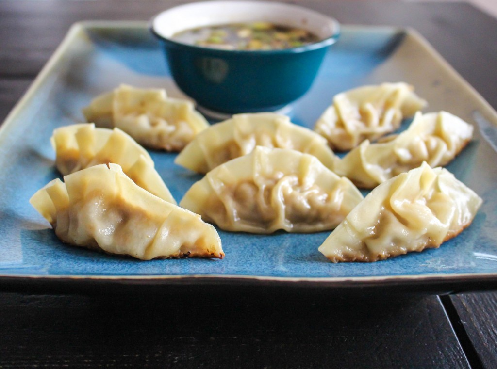 Pork & Apple Pot Stickers   Yes to Yolks