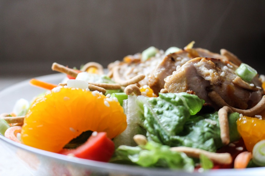 Asian Orange Chicken Salad | Yes to Yolks