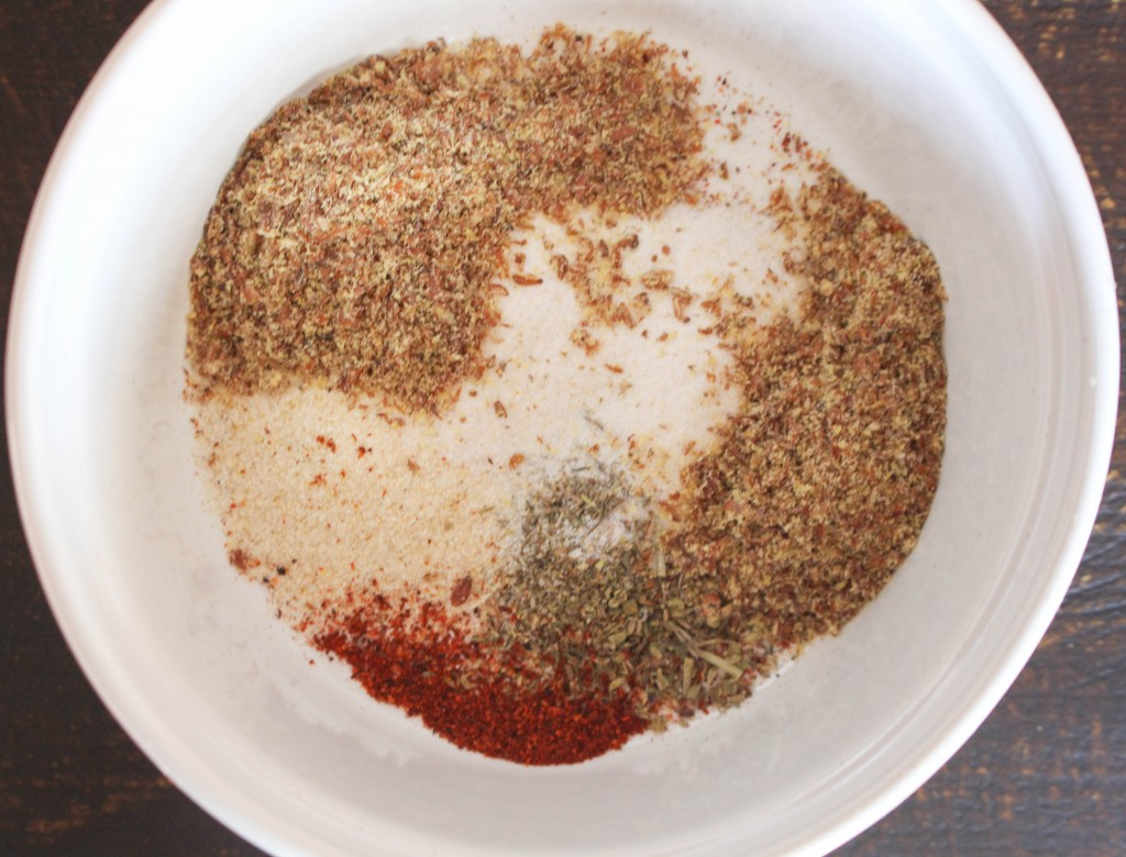 Healthy Roasted Red Pepper Dip & Homemade Flax Chips | Yes to Yolks