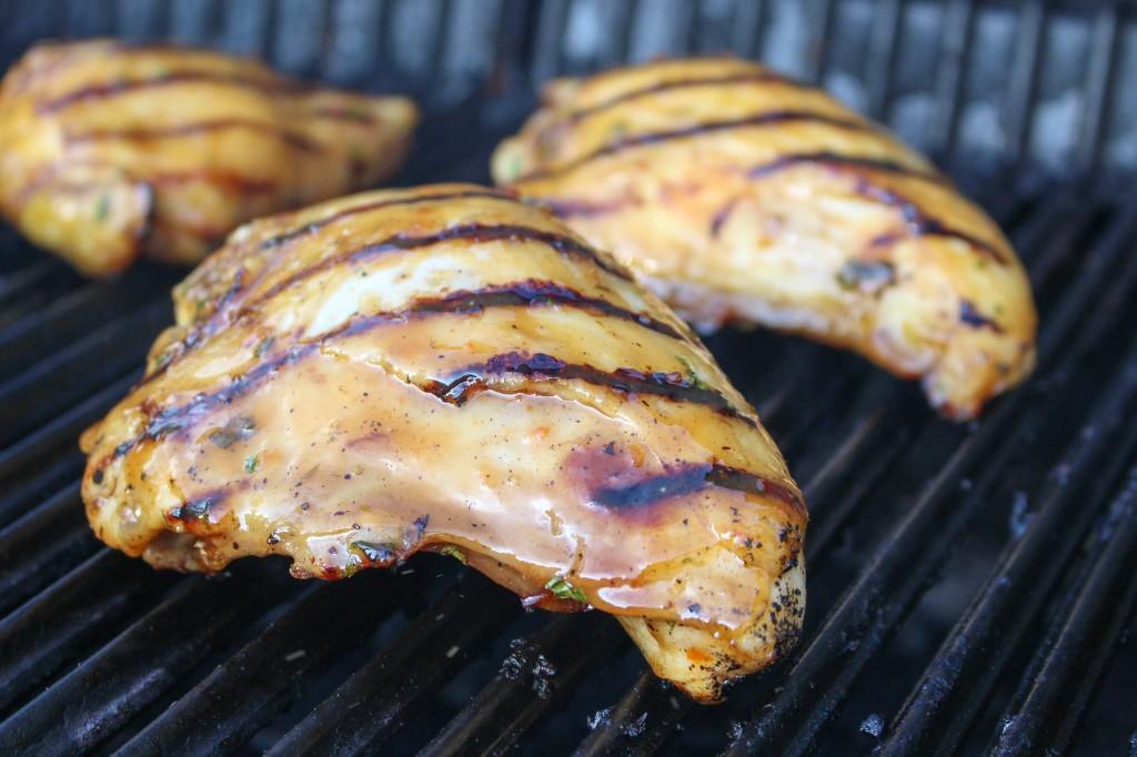 BBQ Thai Chicken | Yes to Yolks