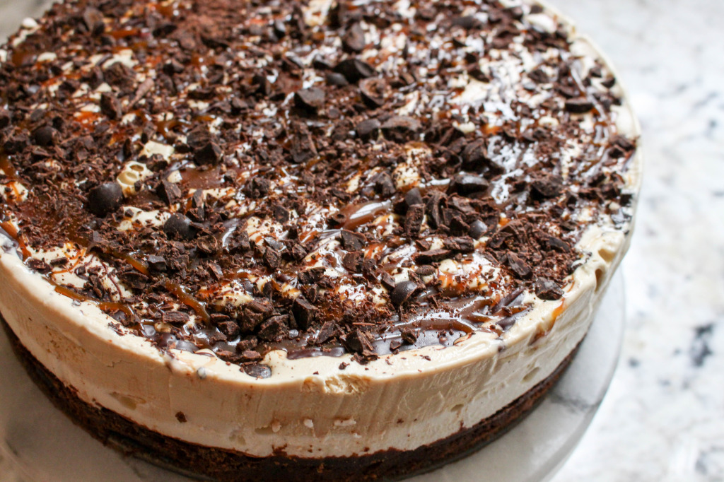 Mocha Brownie Ice Cream Cake | Yes to Yolks