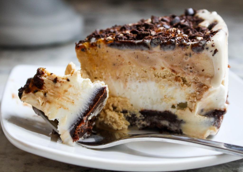 Mocha Brownie Ice Cream Cake | Yes to Yolks