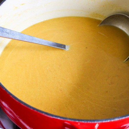 Bacon-Butternut Squash Soup with Coconut Milk & Crispy Shallots   Yes to Yolks