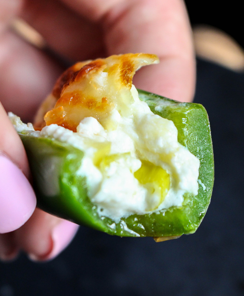 Bacon & Apple Stuffed Jalapeño Poppers | Yes to Yolks