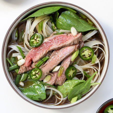 Homemade Beef Pho (the shorter and easier version)