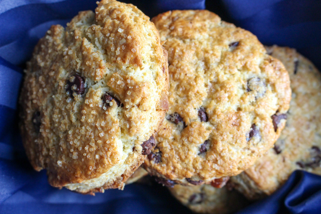 Dark Chocolate & Ginger Scones with Sweet Cinnamon Butter   Yes to Yolks
