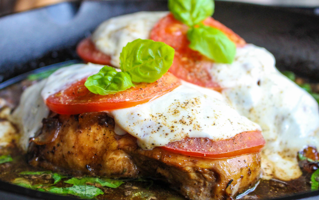 Caprese Skillet Chicken | Yes to Yolks