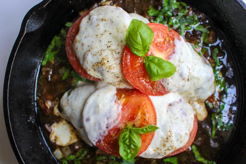Caprese Skillet Chicken | Yes to Yolks