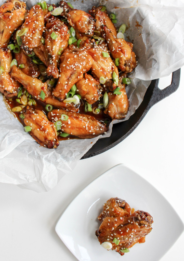 Spicy Blood Orange Chicken Wings | Yes to Yolks