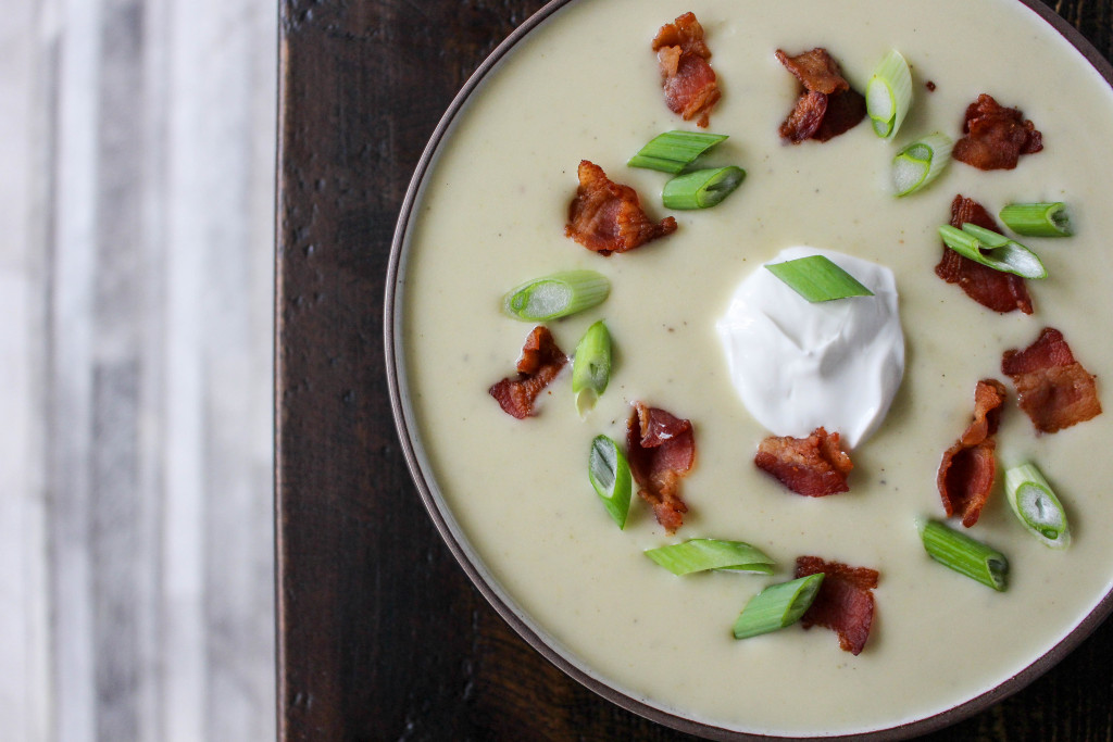 Silky Potato-Leek Soup | Yes to Yolks
