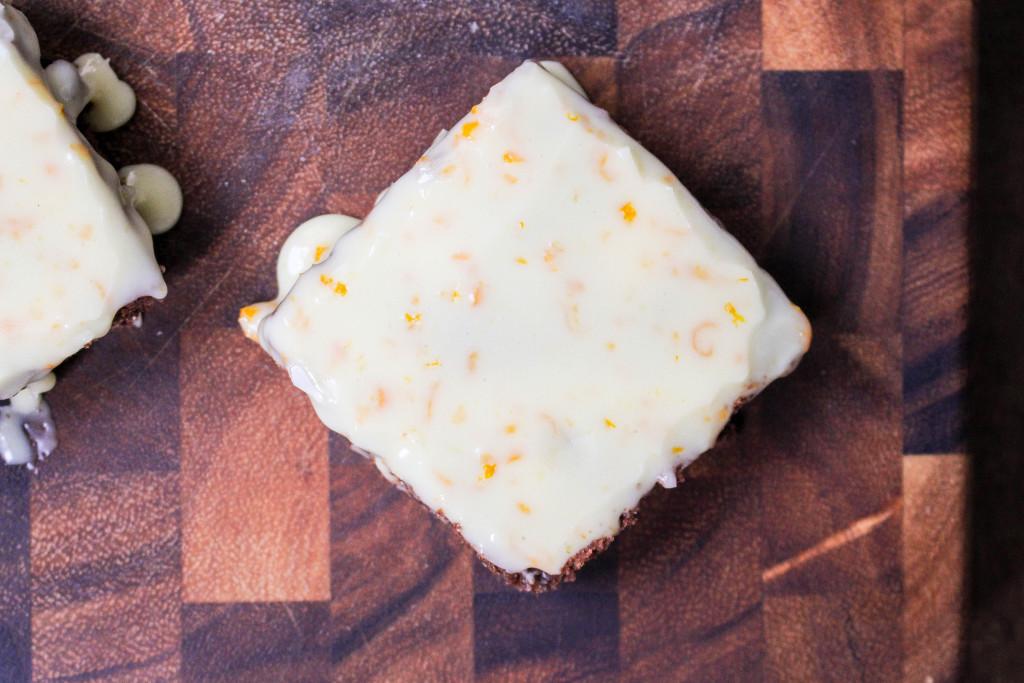 Orange-Cardamom Brownies   Yes to Yolks