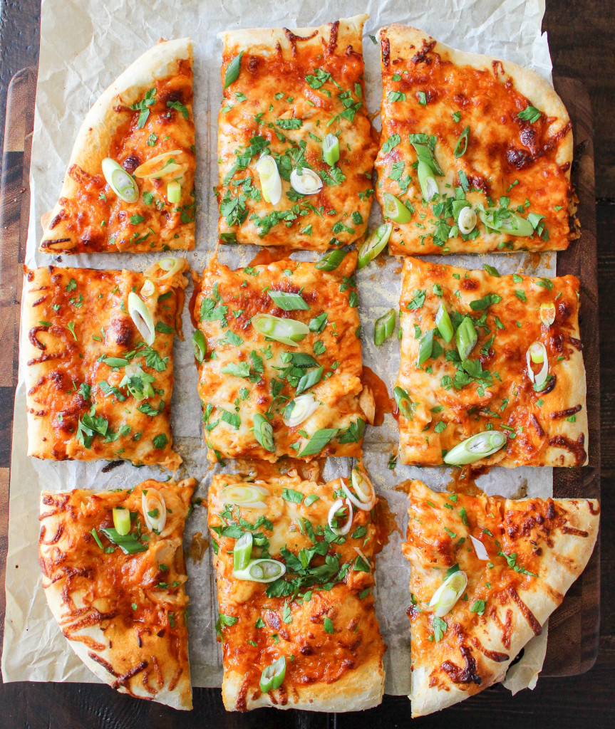 """Hot & Honey"" Buffalo Chicken Pizza 