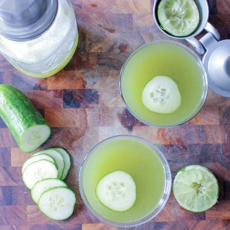 Cucumber Martinis | Yes to Yolks