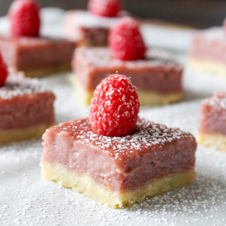 Raspberry Lime Bars