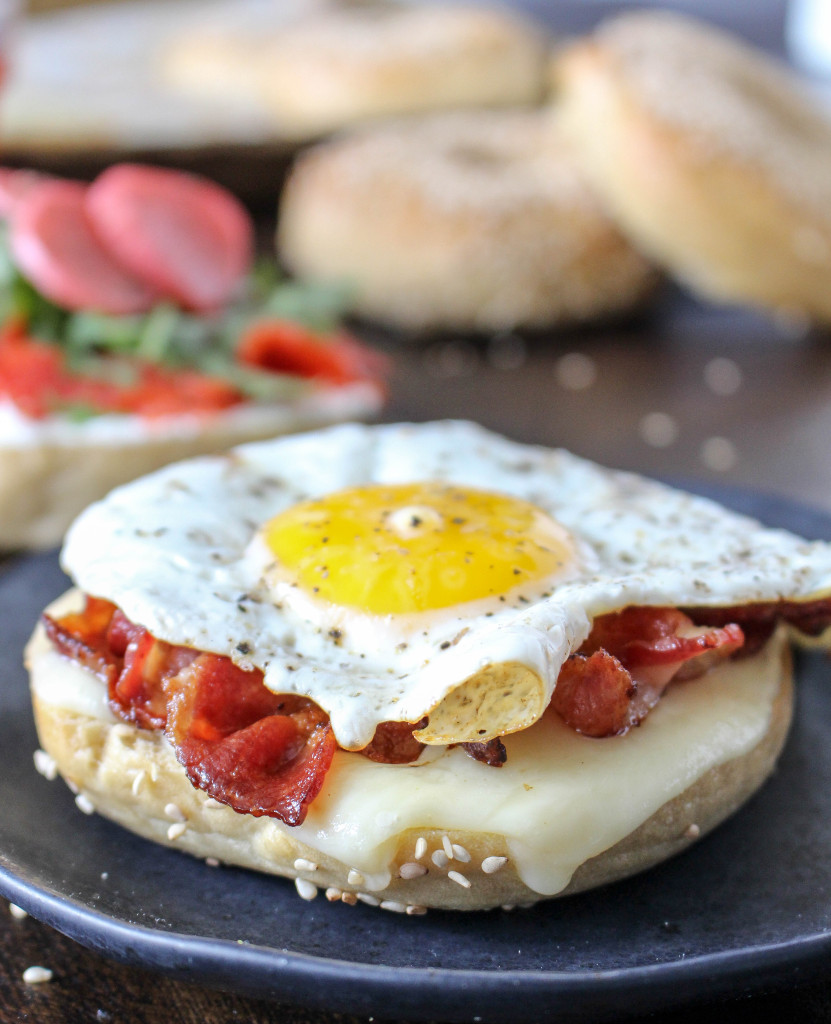Homemade Bagels (and three ways to serve 'em!)   Yes to Yolks