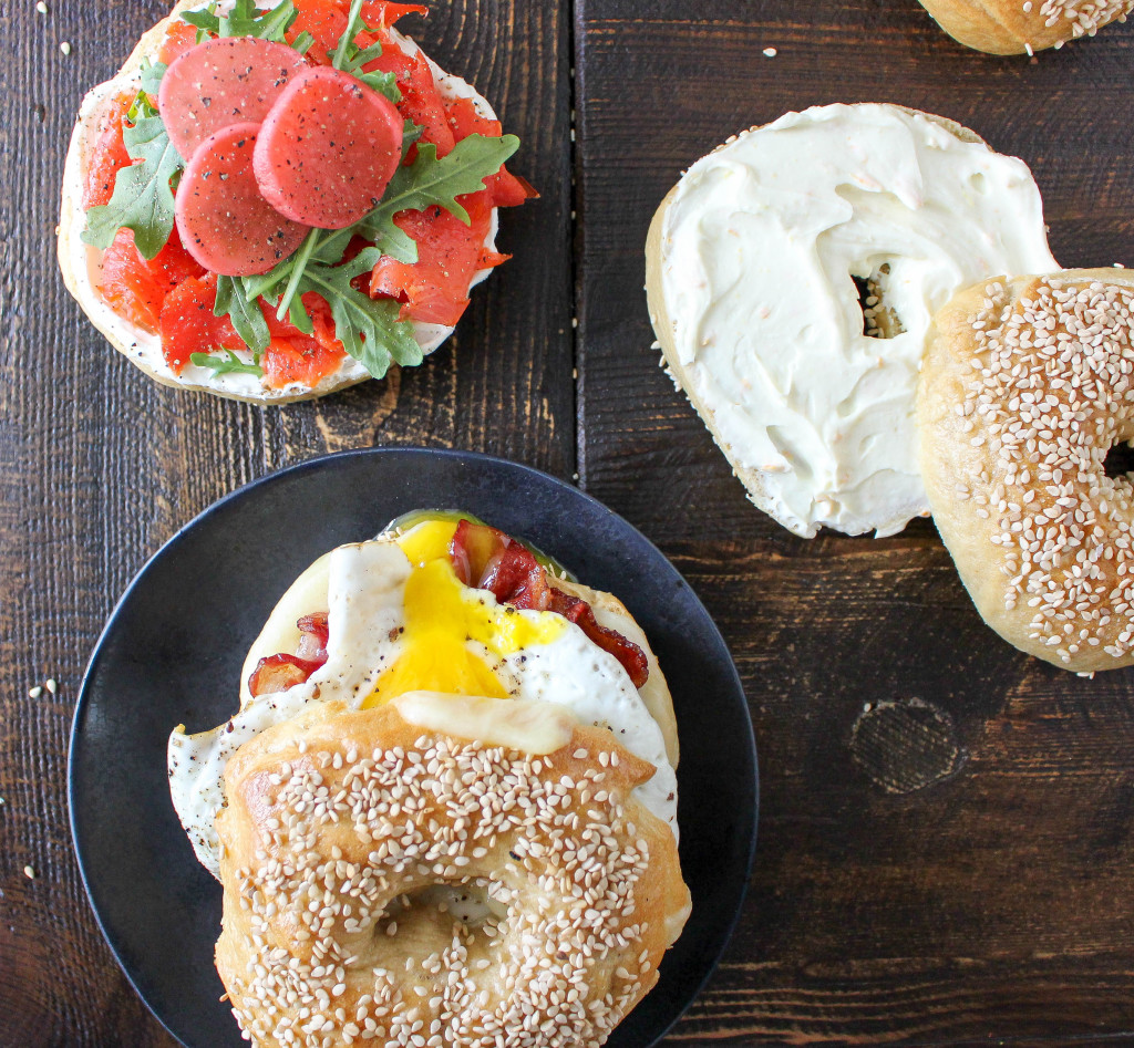 Homemade Bagels (and three ways to serve 'em!) | Yes to Yolks