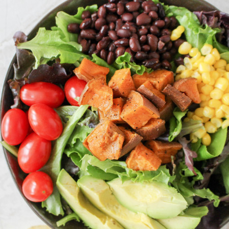 Southwestern Power Salad with Chili-Lime Vinaigrette