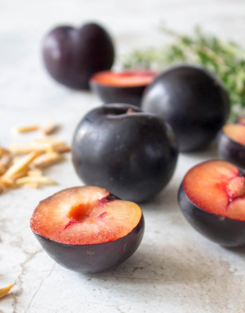 Black Plum, Thyme, & Almond Crostata