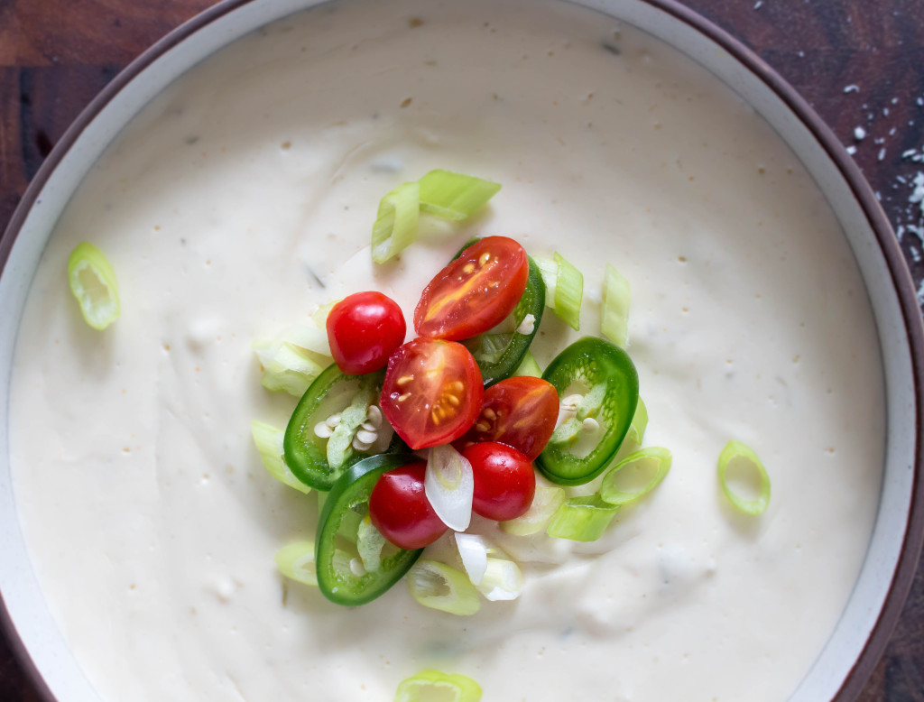 Lightened-Up Beer-Cheese Dip with Ranch & Jalapeños