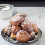 Apple Cider Fritters | yestoyolks.com
