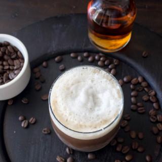 Espresso Bourbon Fizz