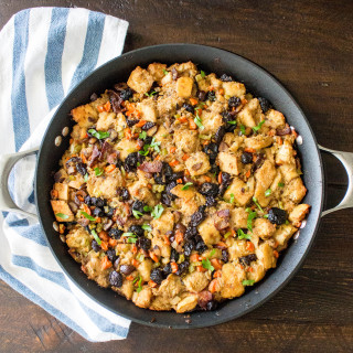 Chestnut, Cherry, & Bacon Stuffing