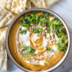 Thai Butternut Squash Dip | yestoyolks.com