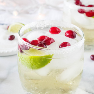 White Cranberry Margaritas
