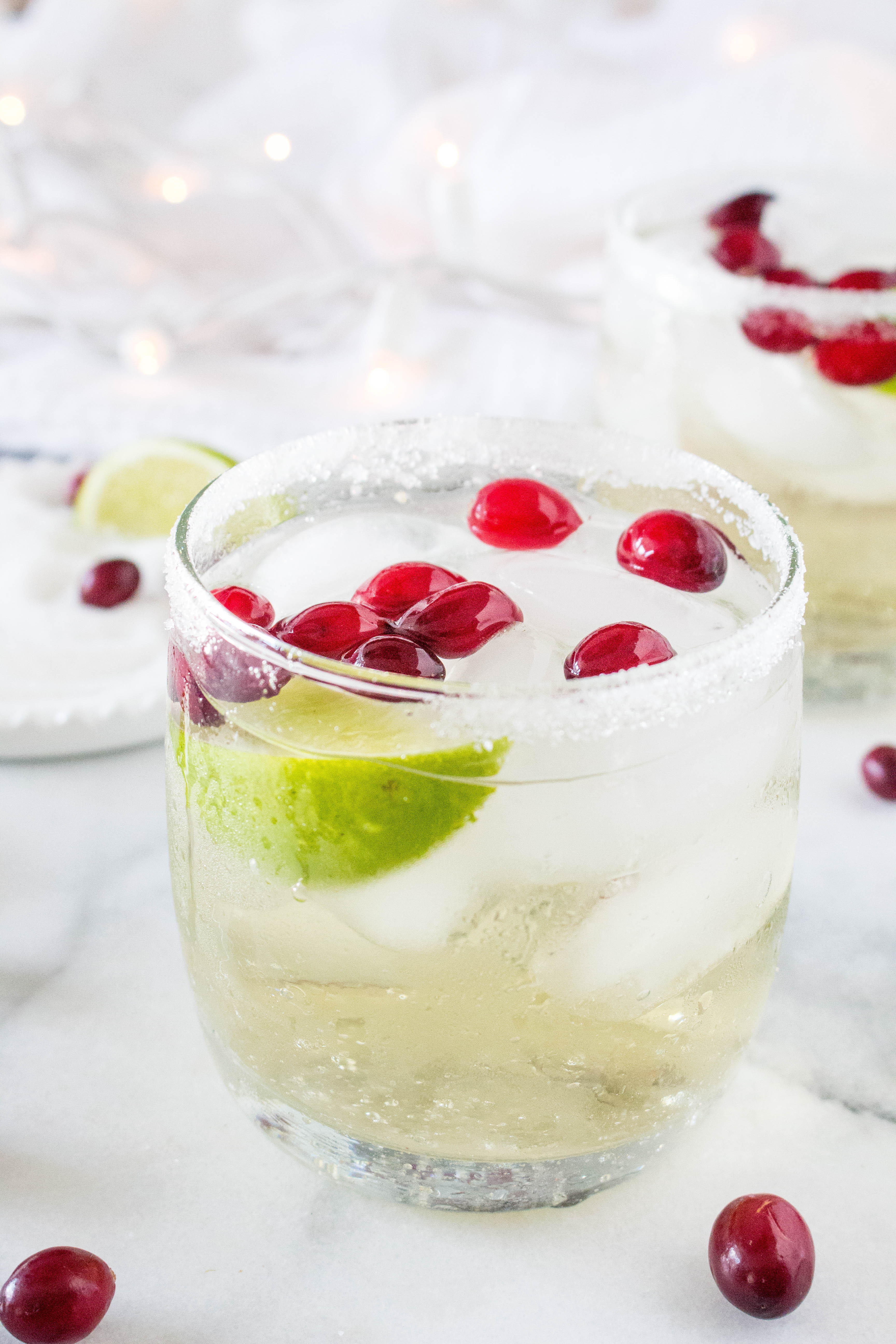 Questions That Make You Think >> White Cranberry Margaritas