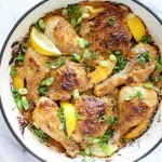 Spicy Sesame Roast Chicken | @yestoyolks.com