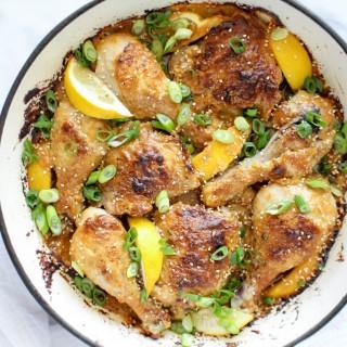 Spicy Sesame Roast Chicken