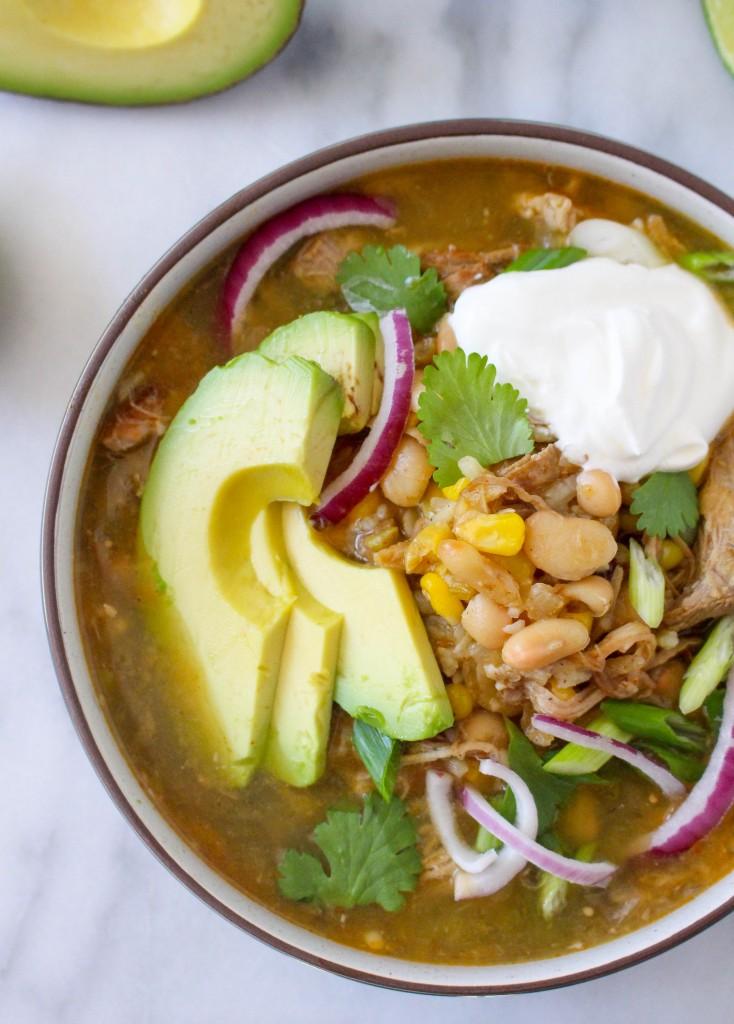 Pork Chili Verde   yestoyolks.com