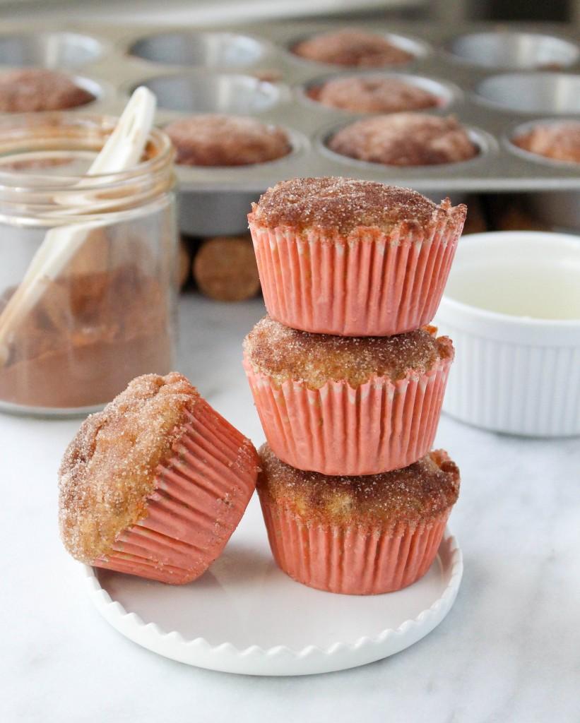 Healthy Apple Cinnamon Muffins   yestoyolks.com