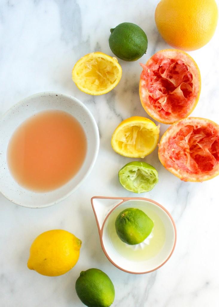 Triple Citrus Gin Spritzer   yestoyolks.com