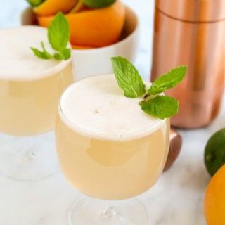 Triple Citrus Gin Spritzers