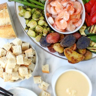 Lobster Bisque Fondue