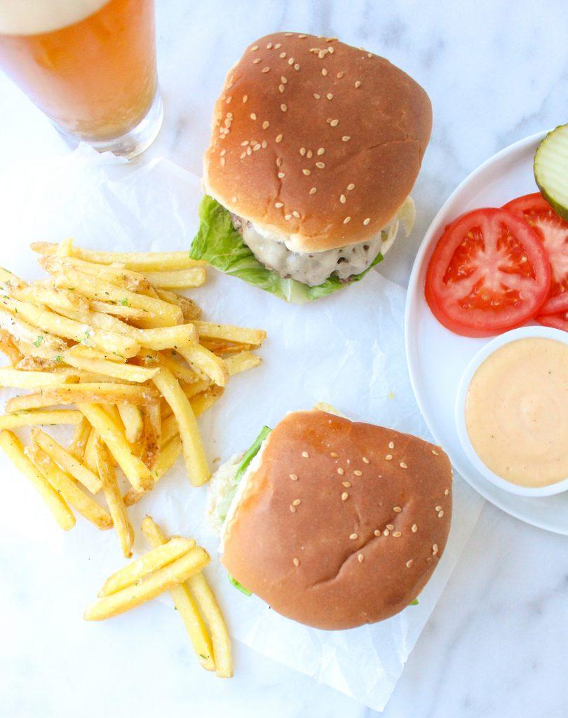 Short Rib Cheeseburgers with Smoky Bourbon Aioli   yestoyolks.com