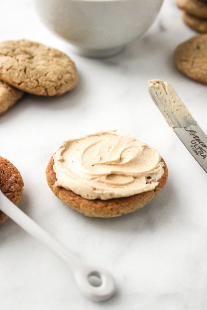 Peanut Butter & Jelly Sandwich Cookies   yestoyolks.com