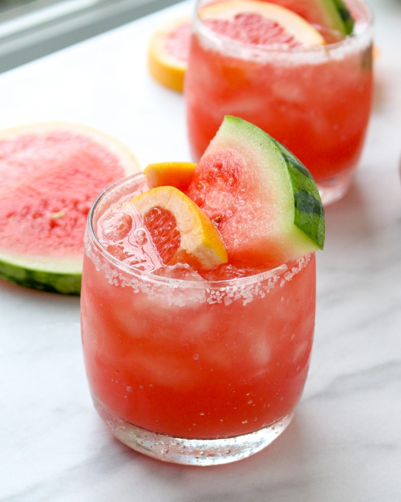 Watermelon Salty Dogs | yestoyolks.com