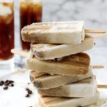 Kahlua Coconut Cream Affogato Popsicles | yestoyolks.com