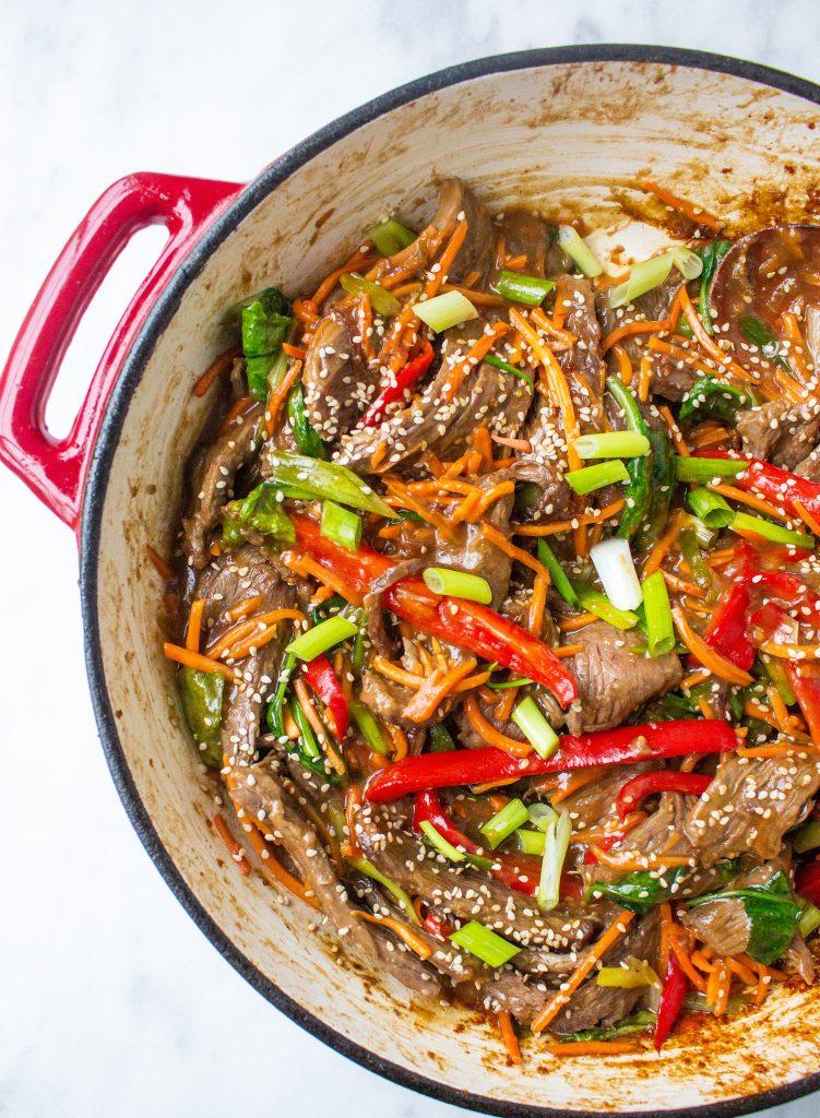 30-Minute Sesame Beef Stir Fry