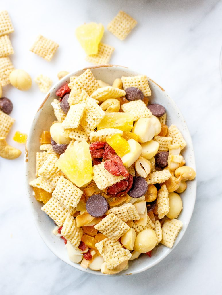 Tropical Macadamia Nut Trail Mix