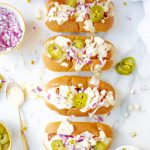 Slow-Cooker Chili Dogs with Jalapeño Beer Cheese