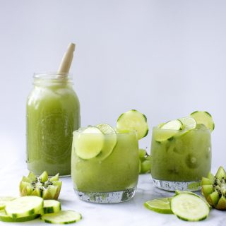 Cucumber-Mint Fruit Cooler