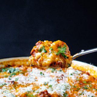 One-Pot Cheesy Chorizo Tortellini