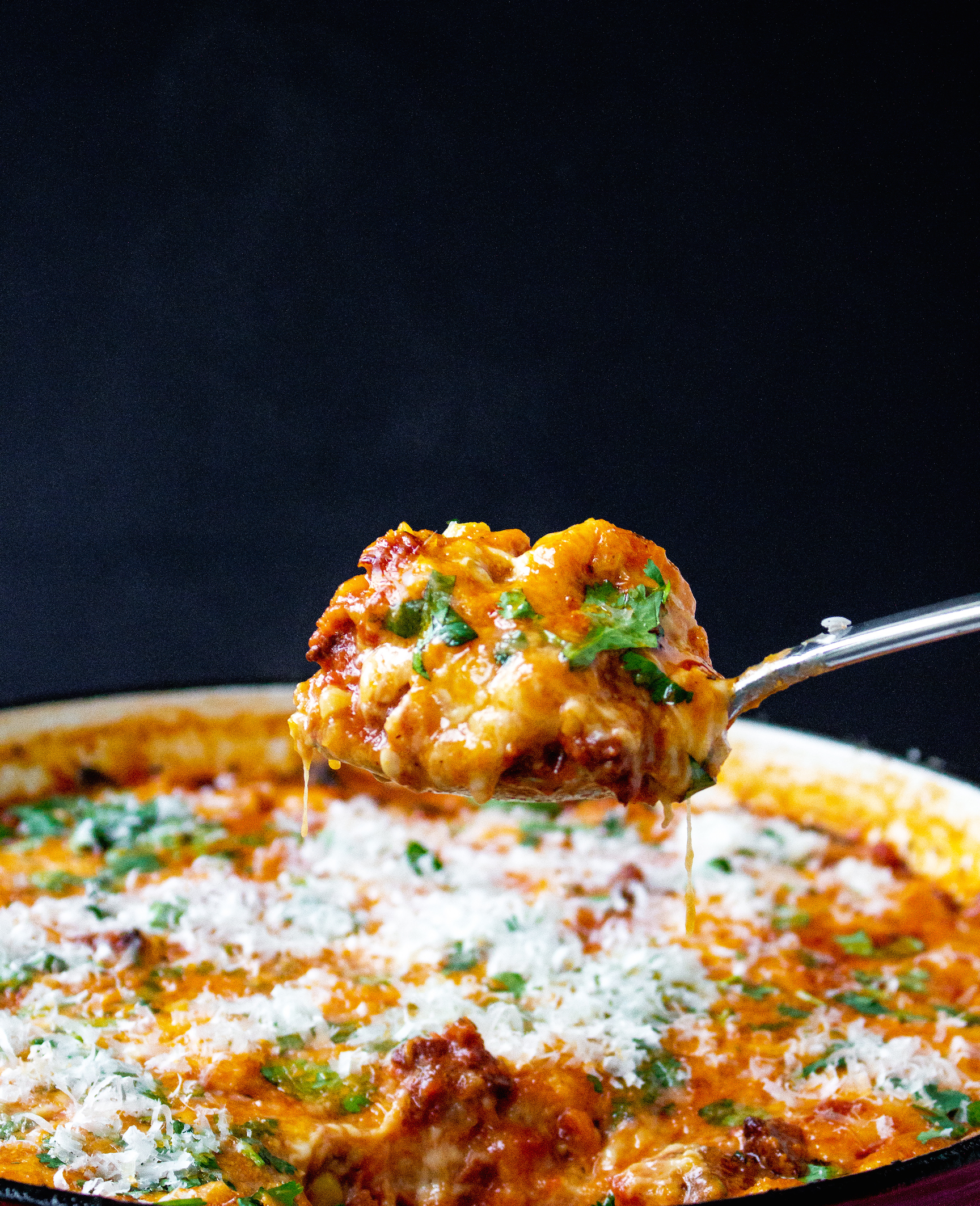 One-Pot Cheesy Chorizo Tortellini