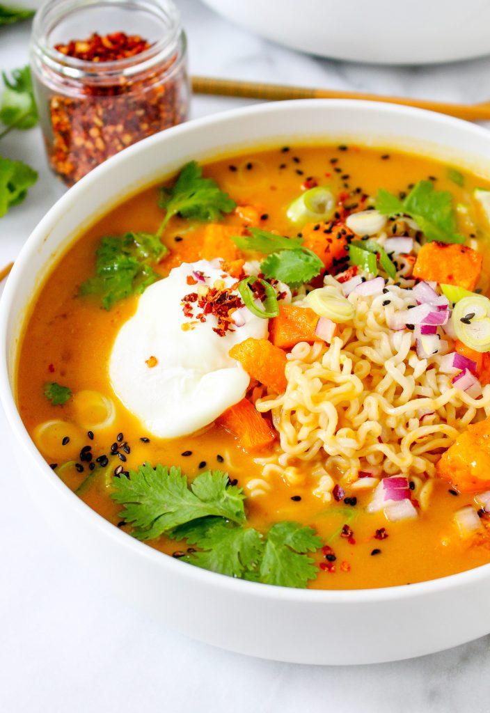 Pho-Spiced Pumpkin Ramen
