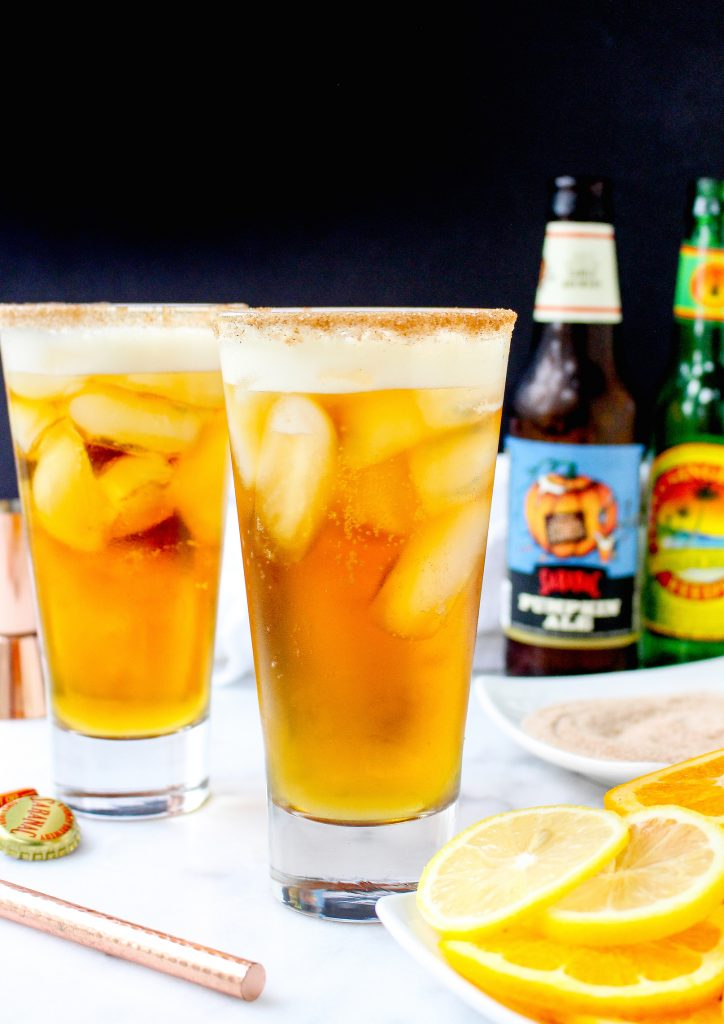 Gingered Pumpkin Beer Shandy