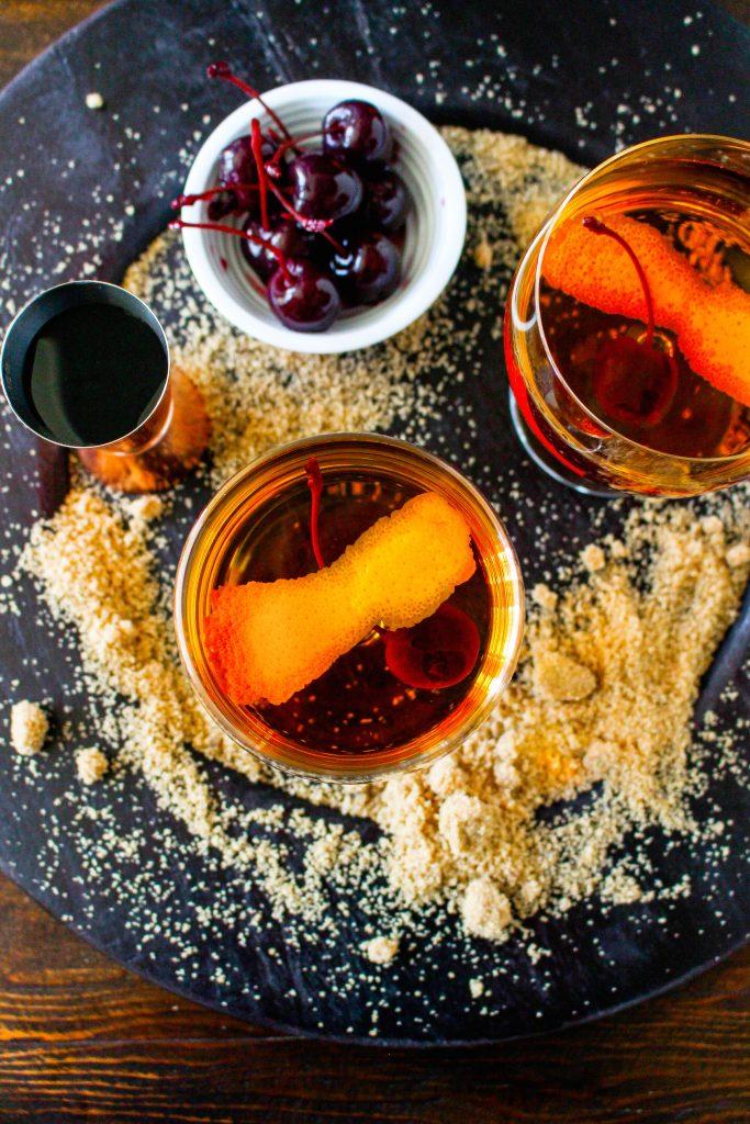 Brown Sugar Manhattans